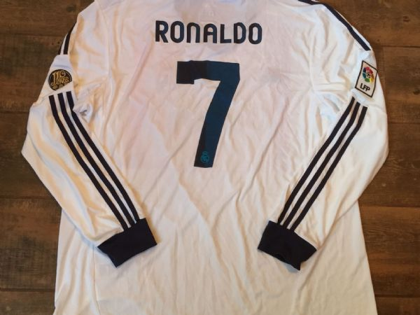 2012 2013 Real Madrid BNWT Ronaldo L/s Football Shirt Adults XXL CR7 Camiseta